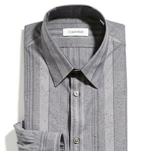 Calvin Klein BNWT dress shirt sz 16 32/33 slim fit